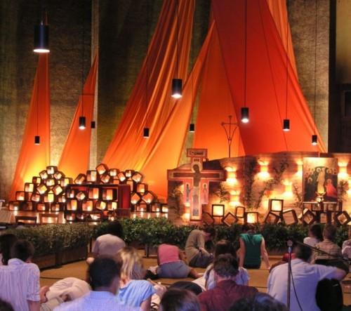 Prayers in church