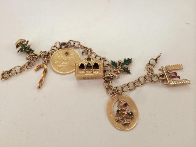 Aunt Camie's charm bracelet