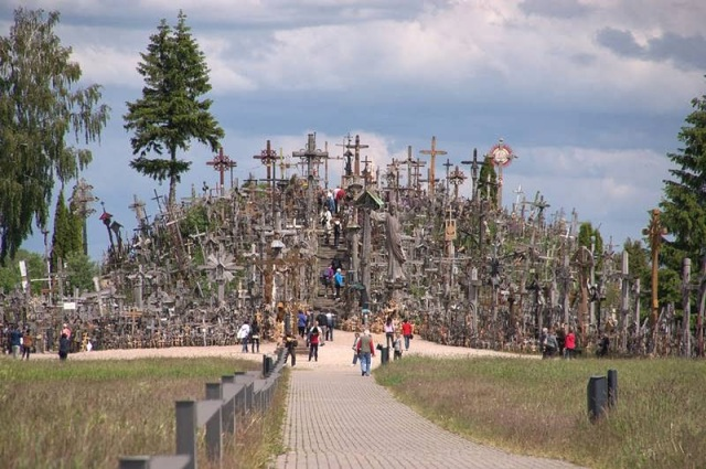 The Hill of Crosses  Lithuanian - Ritebook - 001