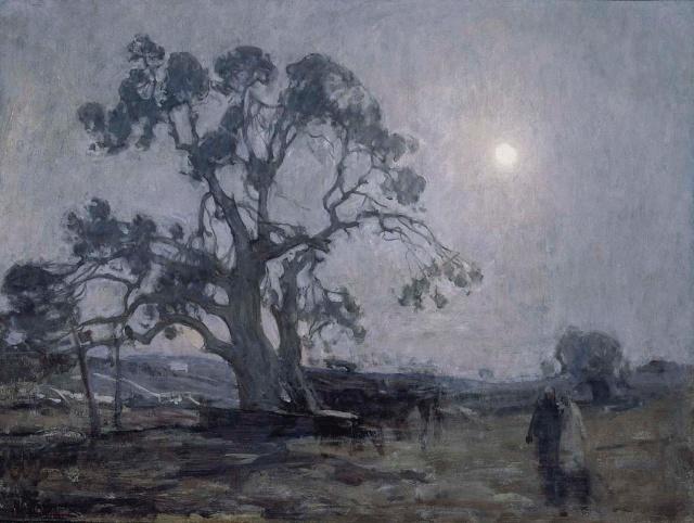 """Abraham's Oak""   by Henry Ossawa Tanner, 1905"