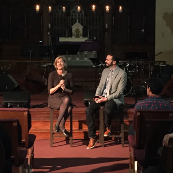 Heather talks with Pastor Matt Popovitz about Man Turned in on Himself at OSNY Midtown
