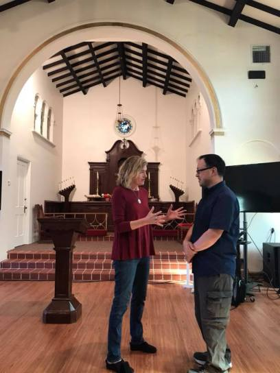 Welcoming Pastor Chris Ng from Church of the Holy Spirit.to HOPE L.A.