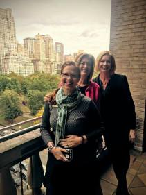 Connecting in NYC with Gretchen Jameson, SVP, Concordia Wisconsin/Ann Arbor and Dr. Rachel Eells, Concordia Chicago