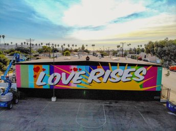A message about the nature of love for all the people in the City of Angels